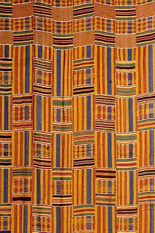 Asante kente cloth | Global Influences on Interior Design