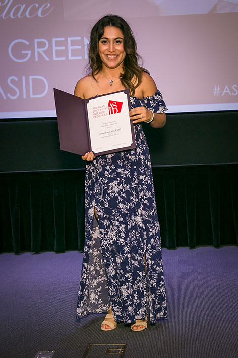 DI alumna and HGTV Faces of Design Nominee Alison Green received 3 awards
