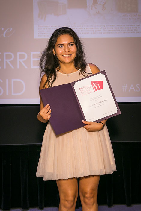 DI student Allie Gutierrez won 2nd place for the category of Student Residential project