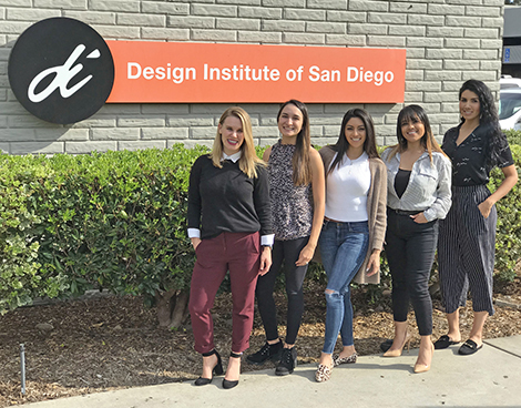 Our 2018-2019 Student Ambassadors, from L to R: Kelly McWhorter, Clara Zepeda, Ana Morales, Angie Maldonado, Renee Candelario. Not pictured: Kathleen Quiroz and Francesca DiVentra