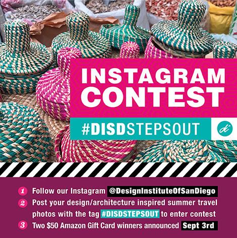 Instagram Contest #DISDStepsOut