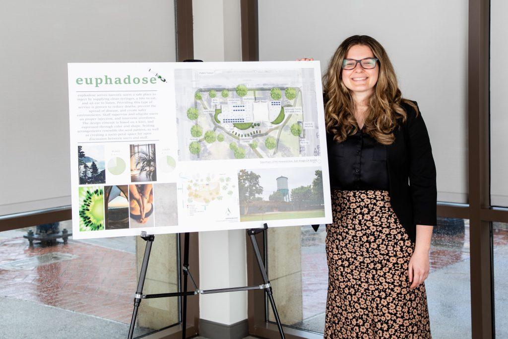 Design Institute of San Diego student Mary Kristofich