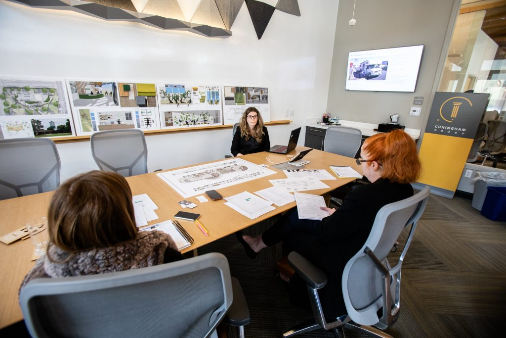 Mary Kristofich won a $5,000 scholarship in the IIDA Southern California 2020 Best of Design – Student Competition.