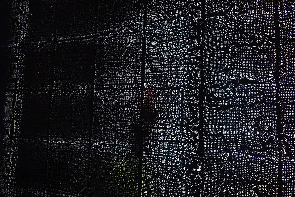 material that allows light to penetrate its dense surface