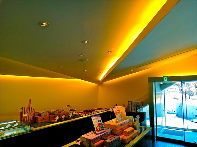 Retail shop interior design, Karuizawa, Japan