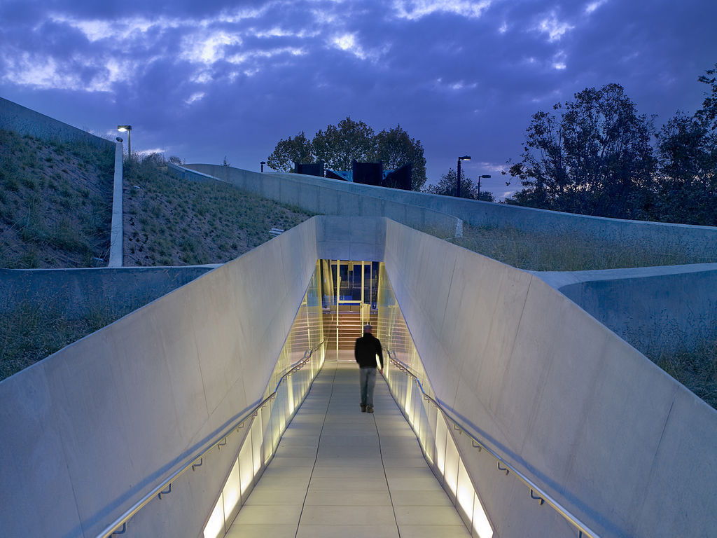 Los Angeles Museum of the Holocaust, Los Angeles, CA, designed by Belzberg Architects