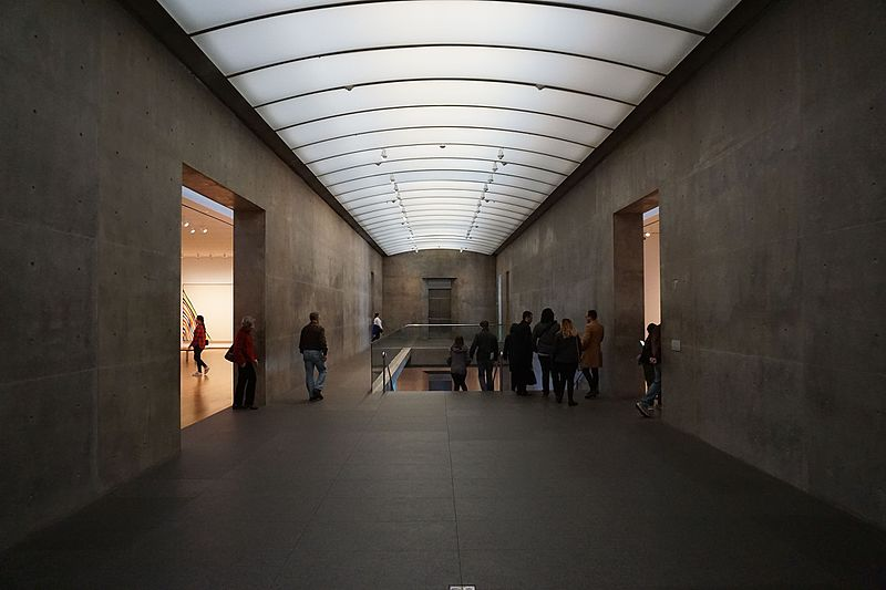 Modern Art Museum of Fort Worth, Fort Worth, TX, designed by Tadao Ando