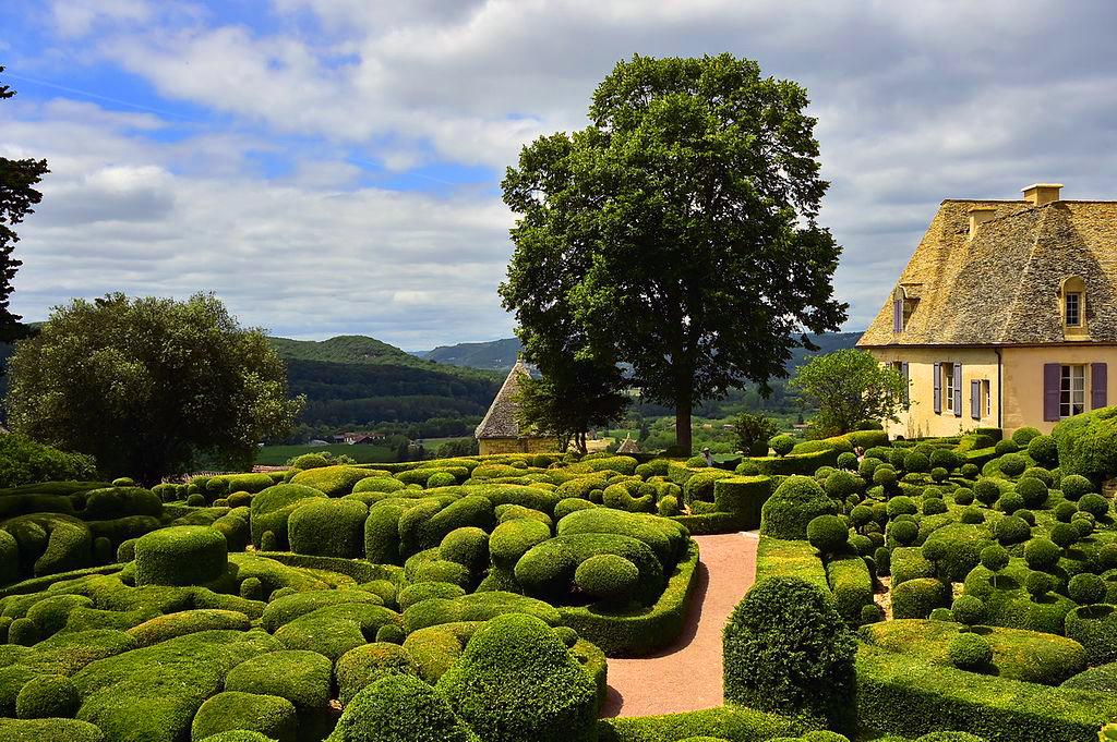 The gardens at Marqueyssac, France
