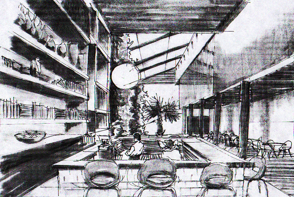Quick Sketching restaurant
