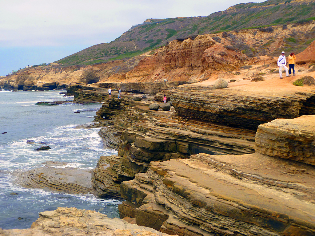 Seaside Cliffs at Cabrillo National Monument