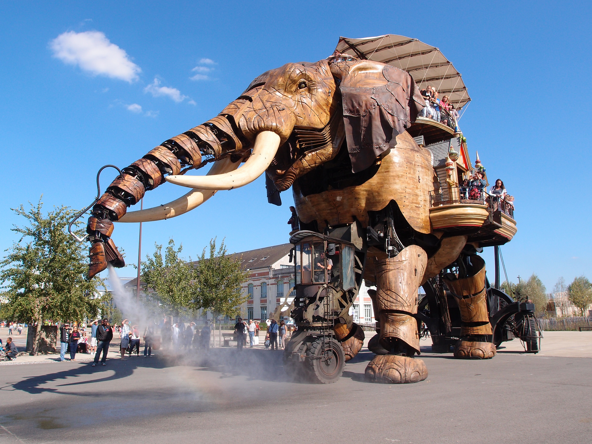 Les Machines de l'île, France - Theme Park Design