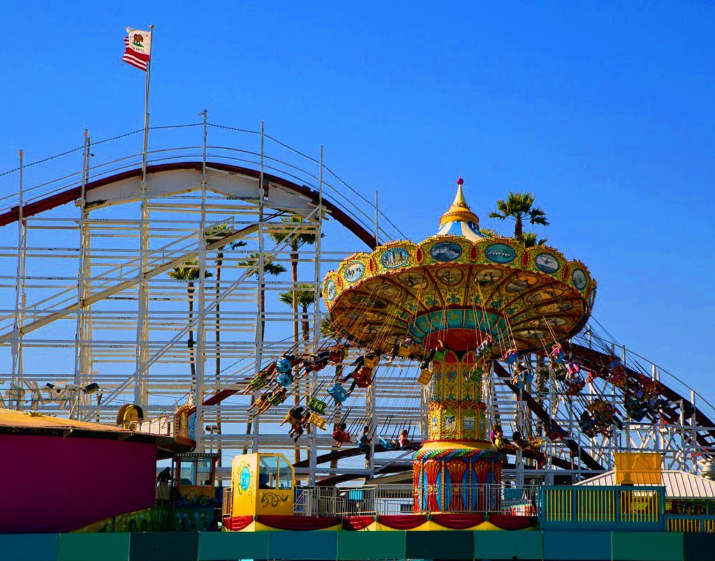 Santa Cruz Beach Boardwalk, USA