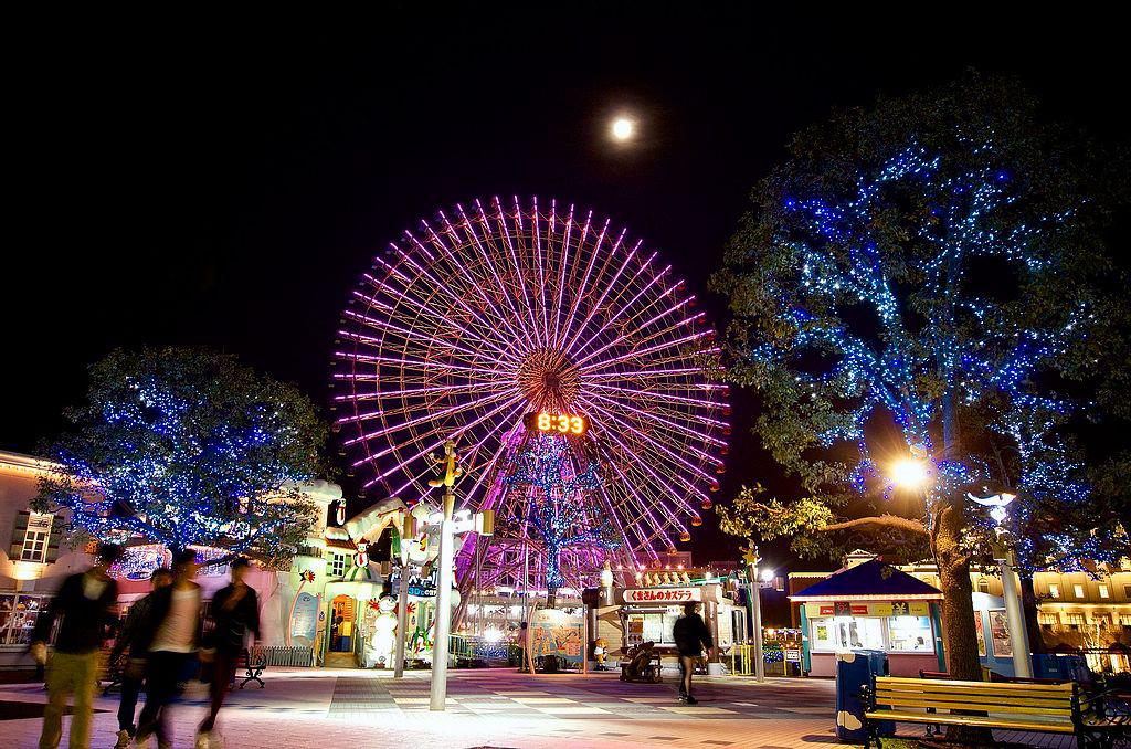 Theme Park Design - Yokohama Cosmo World, Japan
