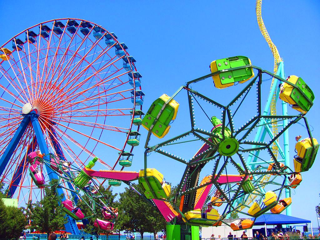 Theme Park Design - Cedar Point, USA
