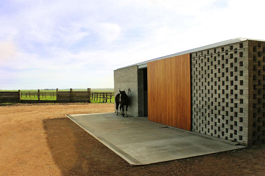 equine design - La Solana Stable, Uruguay.