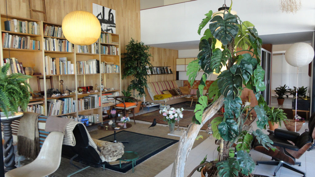 Eames House, Pacific Palisades, CA. Designed by Eero Saarinen and Charles Eames, 1949.