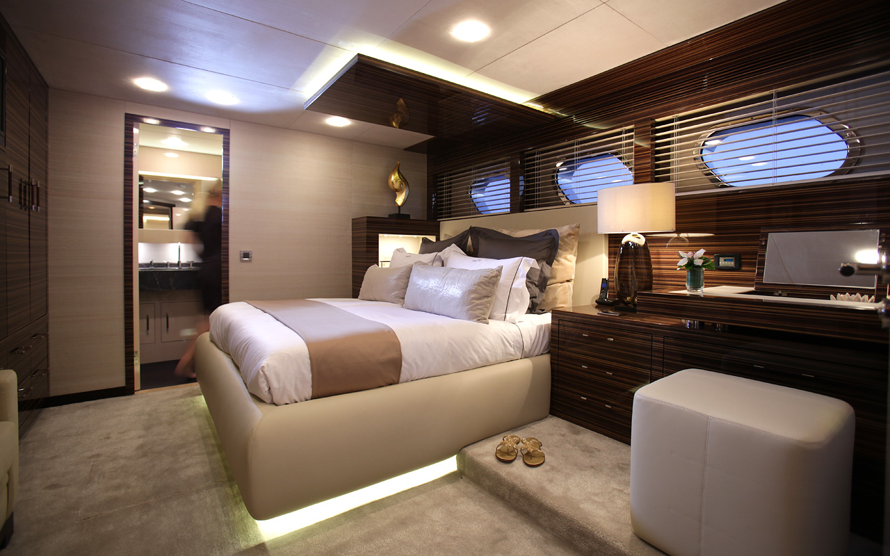 Superyacht taTii, Year Completed: 2009, Interior Designer: Ivan Erdevicki - ER Yacht Design