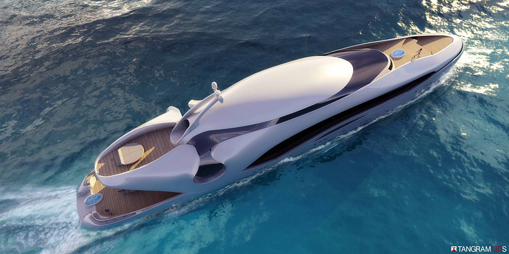 Oculus, Year Built: currently being designed, Interior Designer: Tangram 3DS | Yacht Interior Design | DI Interior Design Blog | Design Institute of San Diego