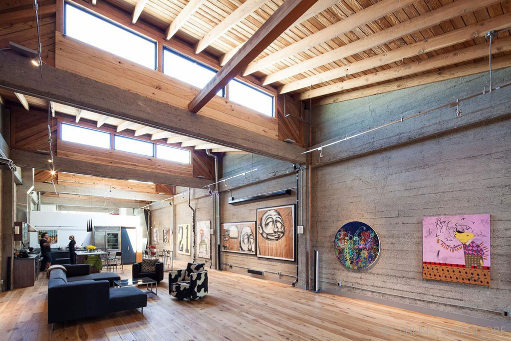 The Home of an Art Collector