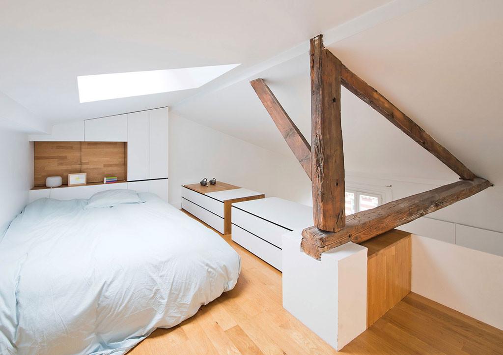 Paris Apartment for Fashion Designer designed by SABO Project