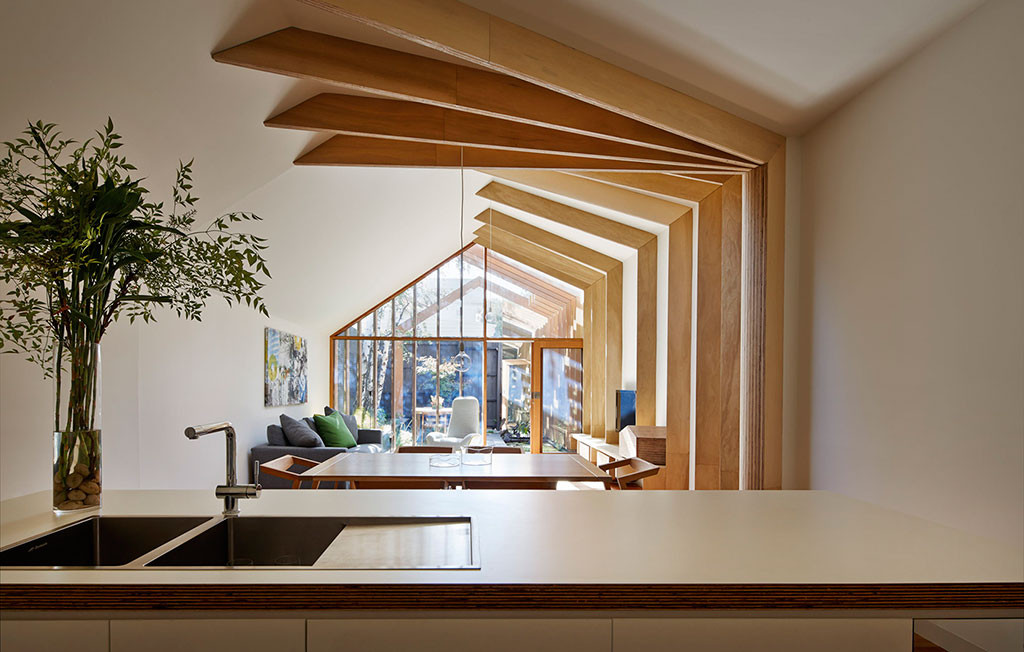 Looking Back: Interior Design Trends Over the Years  - Cross-Stitch House designed by FMD Architects