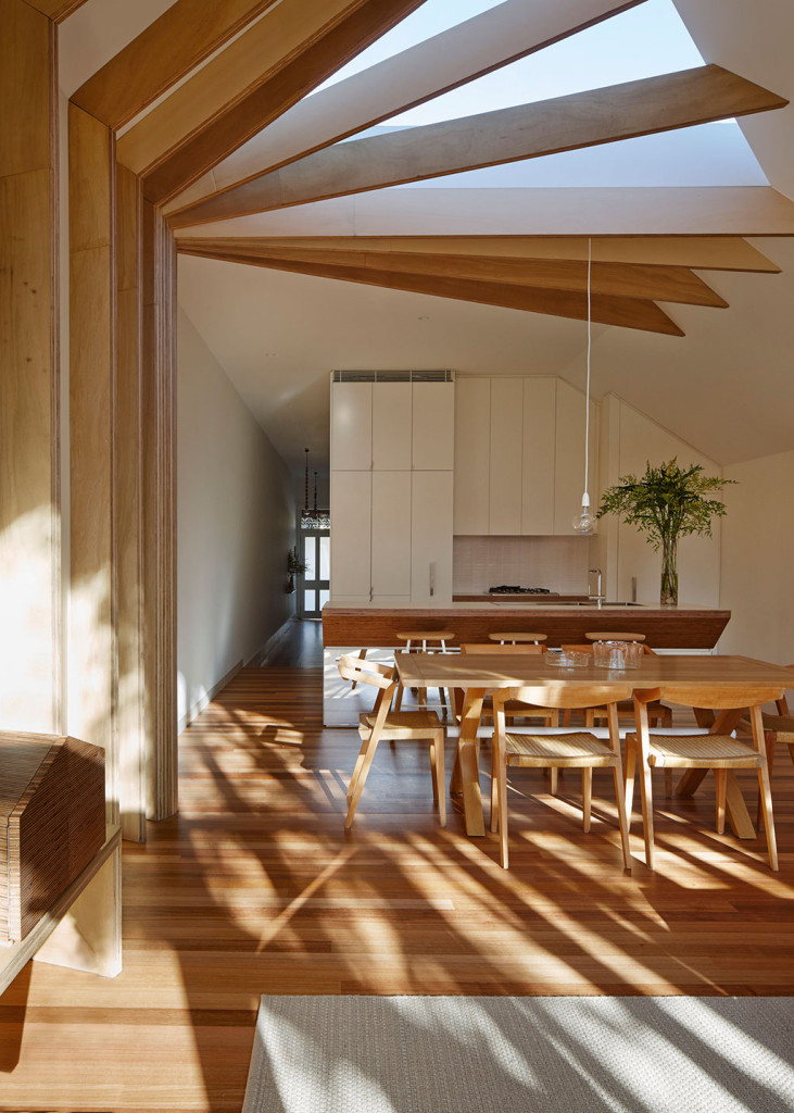 interior design trends - Cross-Stitch House designed by FMD Architects