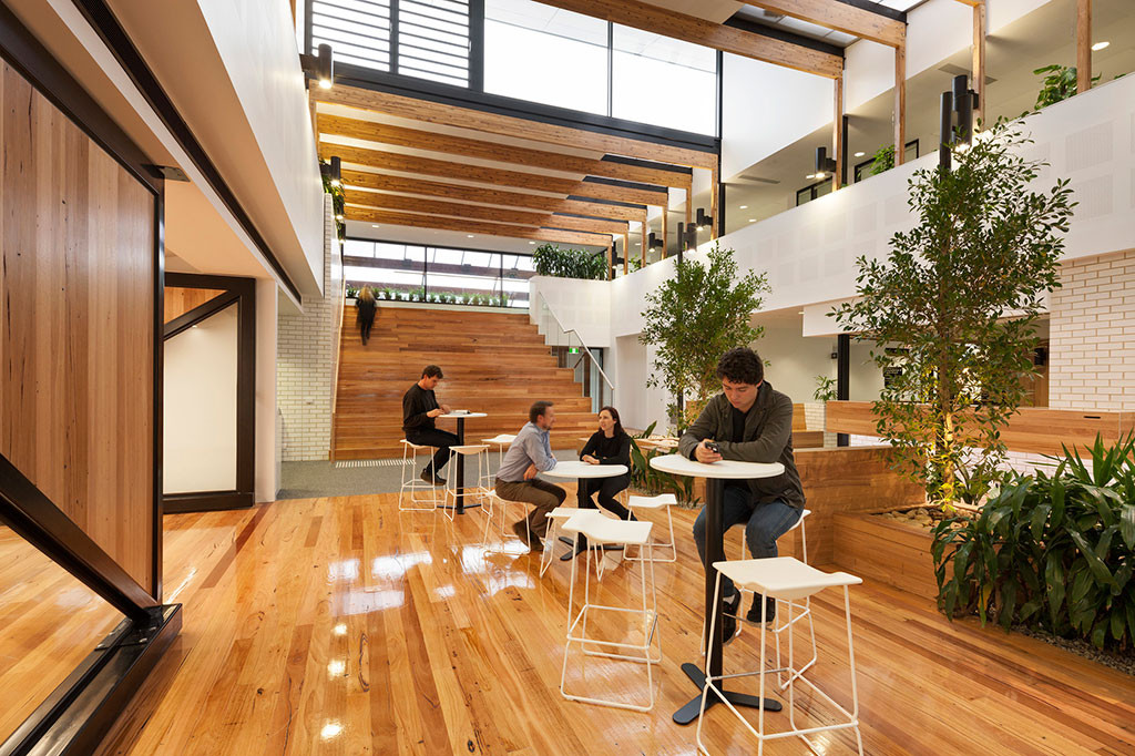 Health and Well-Being - Ballarat Community Health Primary Care Centre designed by DesignInc