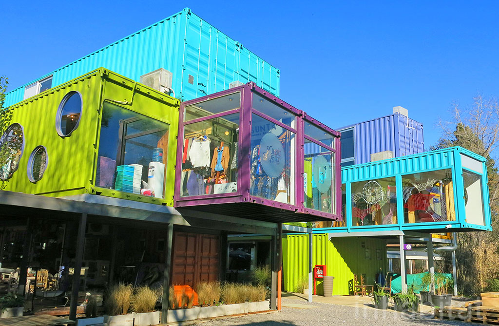 QUO Shipping Container Mall designed by BZZ Arquitectura, follow on Instagram