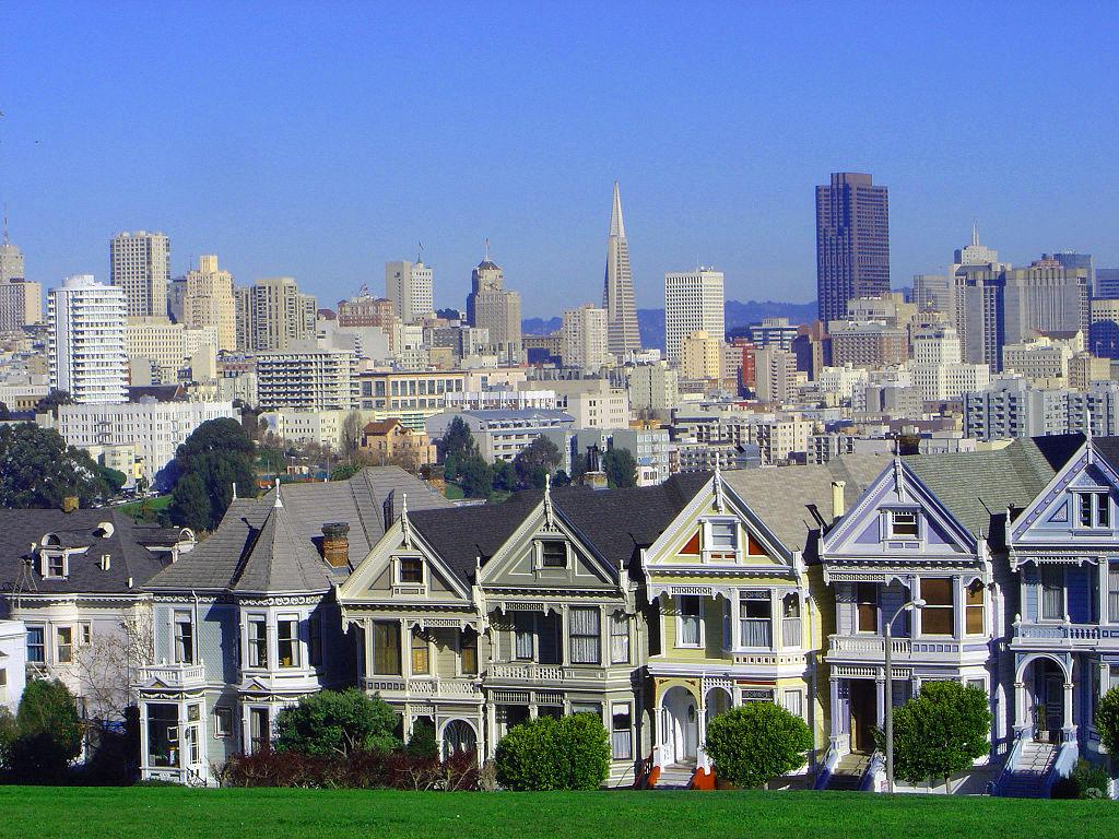 San Francisco, Painted Ladies Row Houses