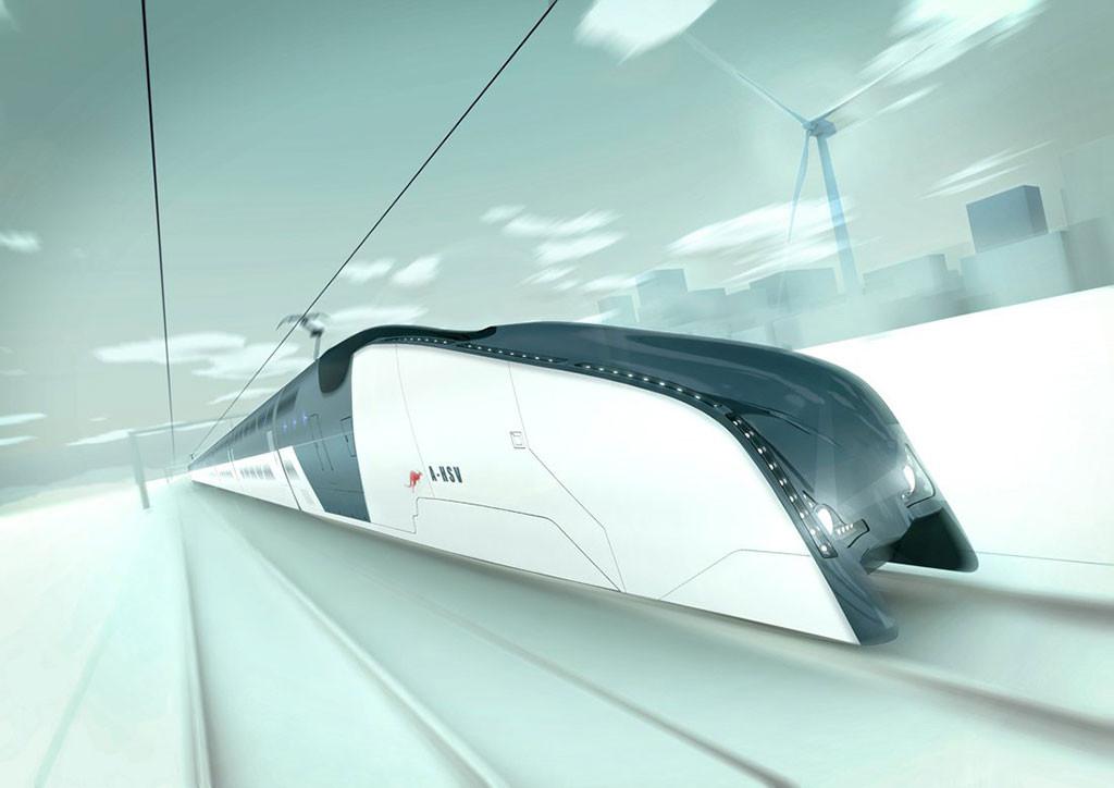 Australian High Speed Vehicle - Interior Design on the Go