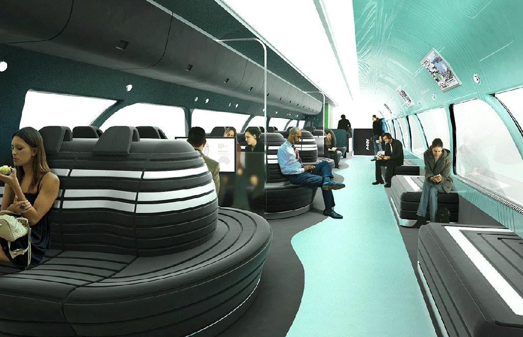 Seating Area, Australian High Speed Vehicle