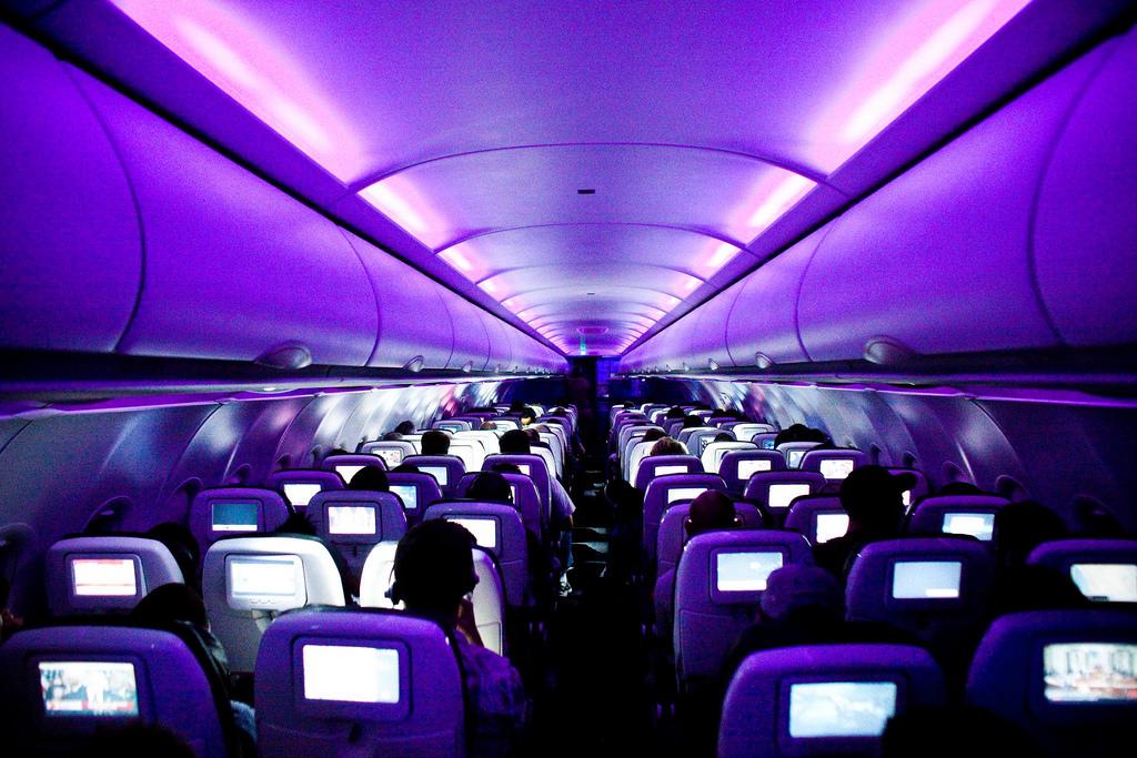 Virgin Atlantic A330 Upper Cabin