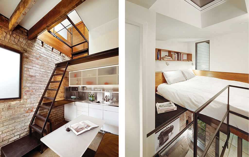 Red-brick broiler room converted into guesthouse by Azevedo Design