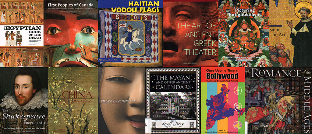 Inspiration in Unlikely Places - Books on literature, mythology and religion