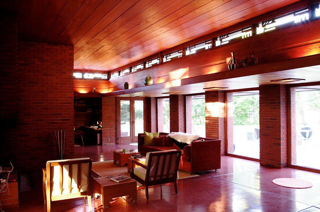 Bernard Schwartz House by Frank Lloyd Wright