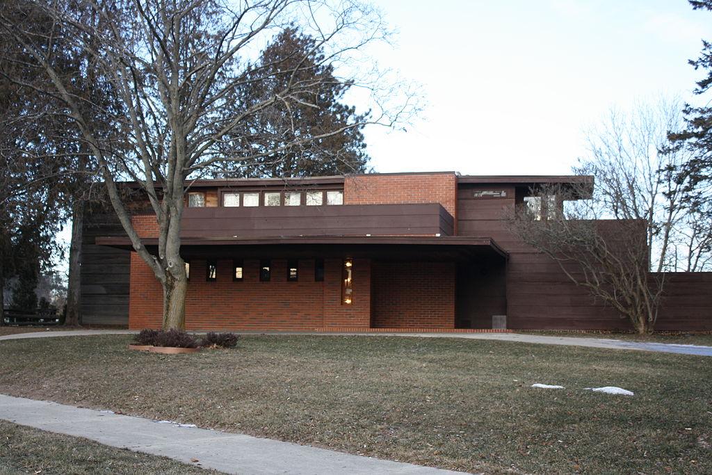 Bernard Shcwartz House by Frank Lloyd Wright