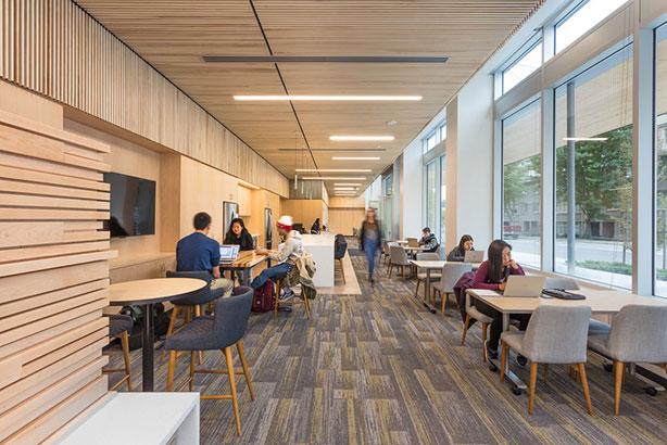 Brocks common study space interior design