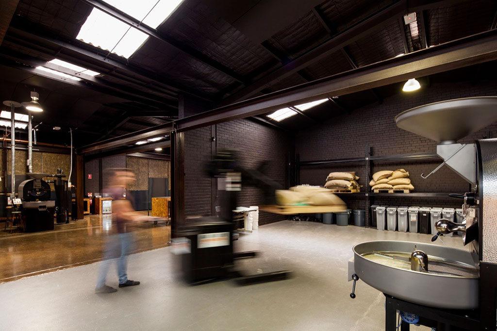 Code Black Coffee by Zwei Interiors Architecture