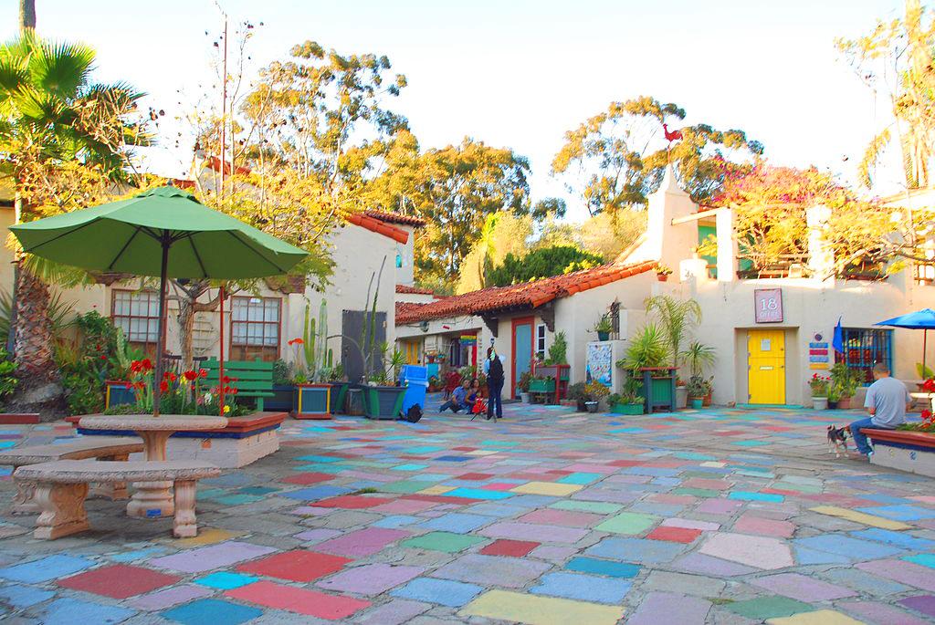 San Diego hidden gems - Spanish Village Art Center