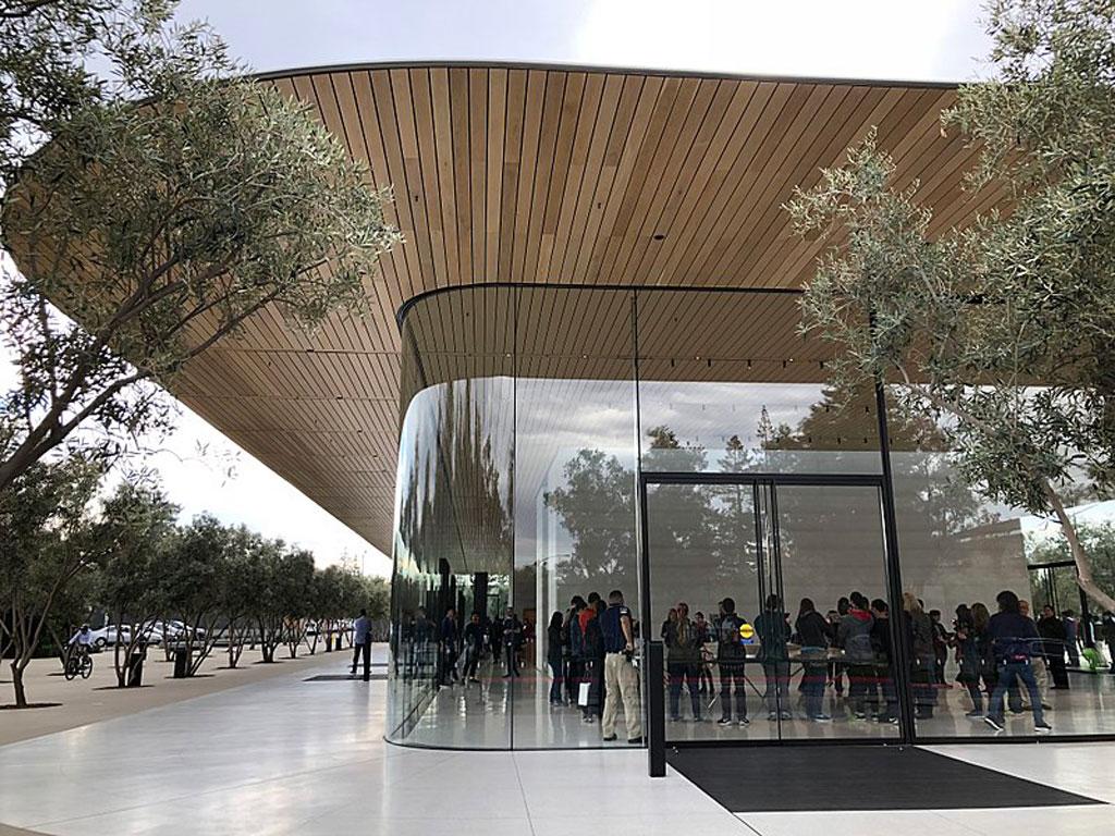 Apple Park - Visitors Center, Cupertino, CA
