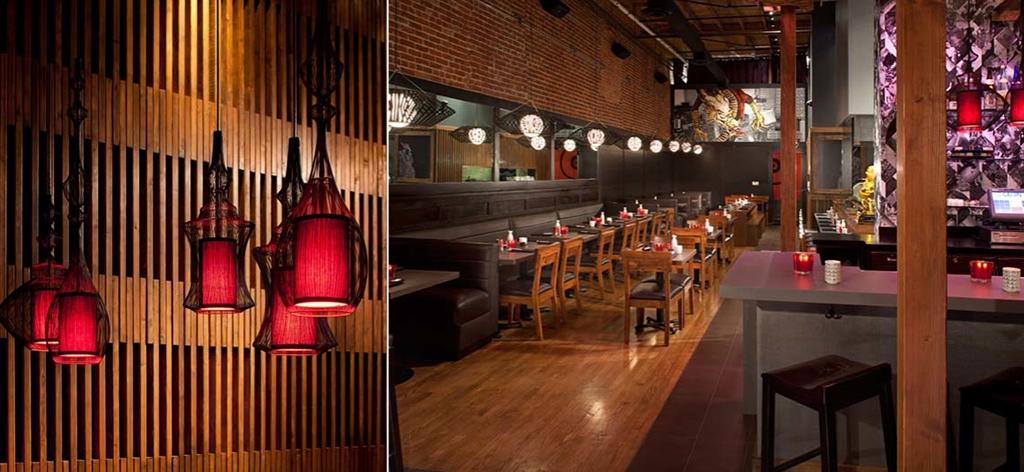 Restaurant Design - Sake House designed by Jules Wilson Design Studio