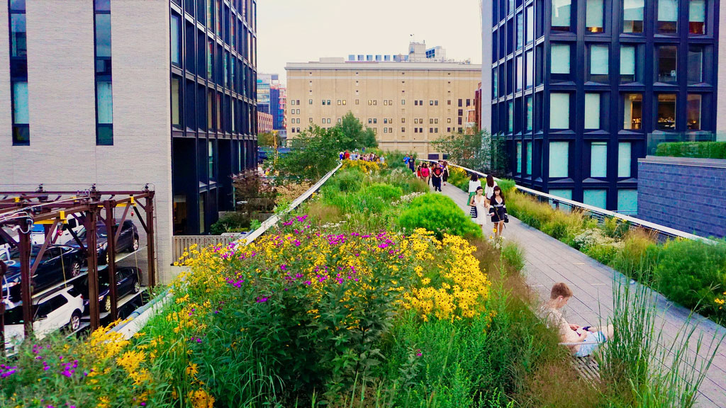 Incredible Rooftops - High Line, New York City