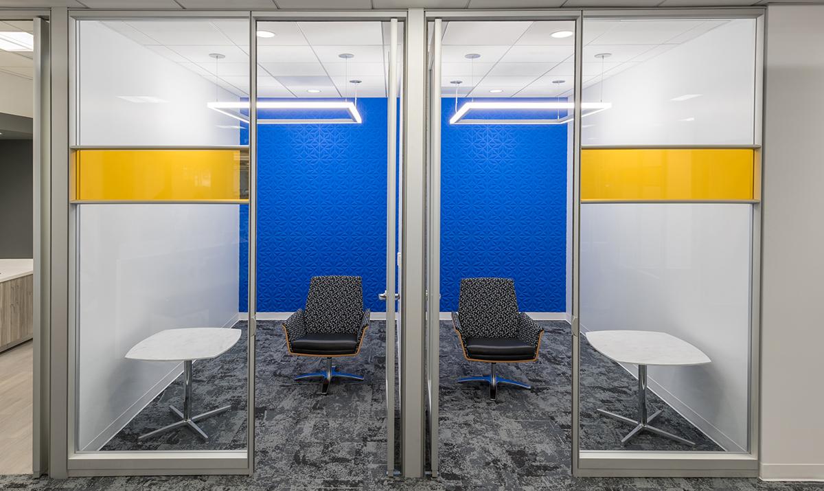 Top 2019 Interior Design Trends - Phone Room designed by ID Studios