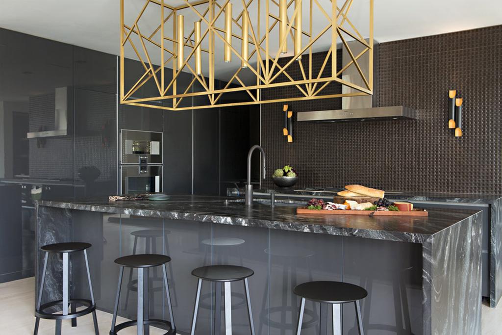 Kitchen designed by Studio H