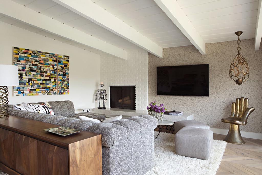 Top 2019 Interior Design Trends - Living Room designed by Studio H