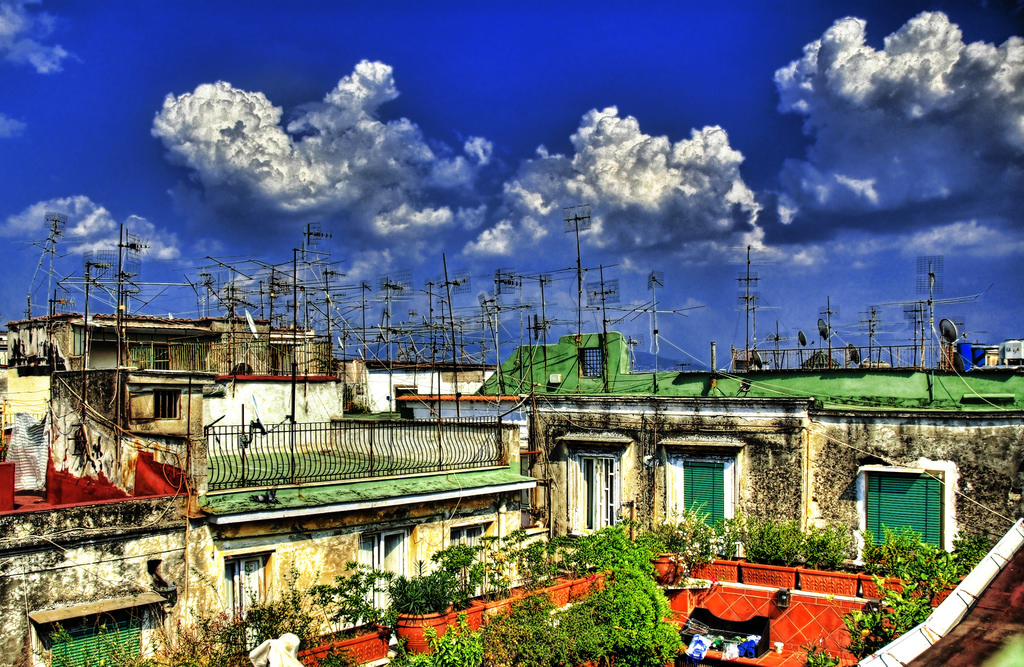 Incredible Rooftops - The Rooftops of Napoli, Italy