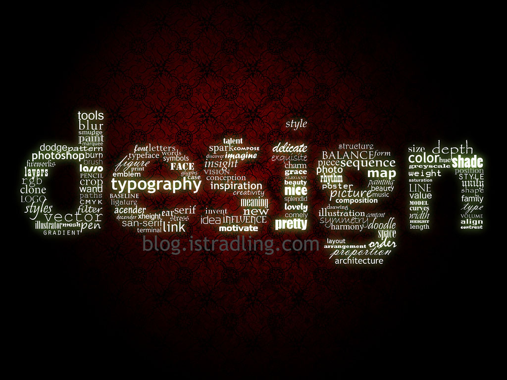 design and typography graphic