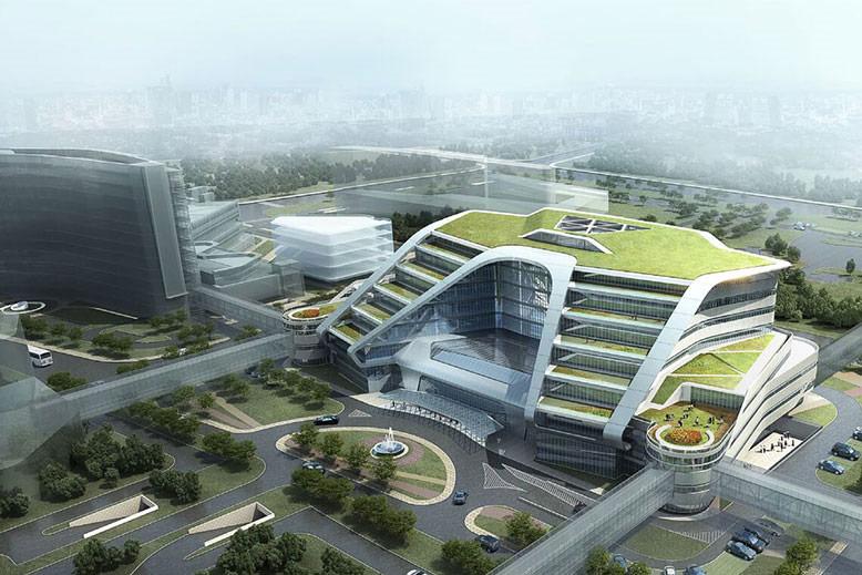 Hongqia Medical Center Design