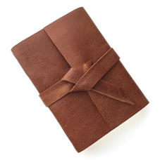 Personalized Leather Sketchbook