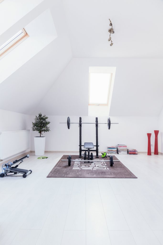 design tips for your in-home gym